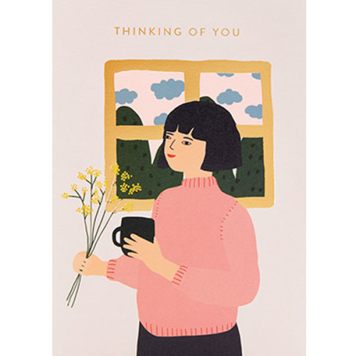 Jennifer Bouron Thinking of you wenskaart - www.kidsdinge.com