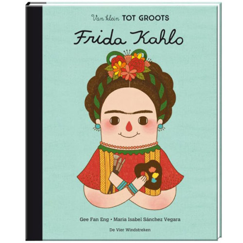 Van klein tot groots Frida Kahlo - www.kidsdinge.com