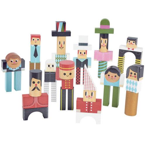 Vilac houten blokken Ingela vanaf 3j - www.kidsdinge.com