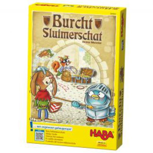 Spel 'Burcht Sluimerschat' van Haba