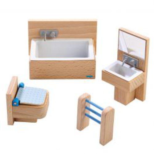 Badkamer voor houten poppenhuis Little Friends