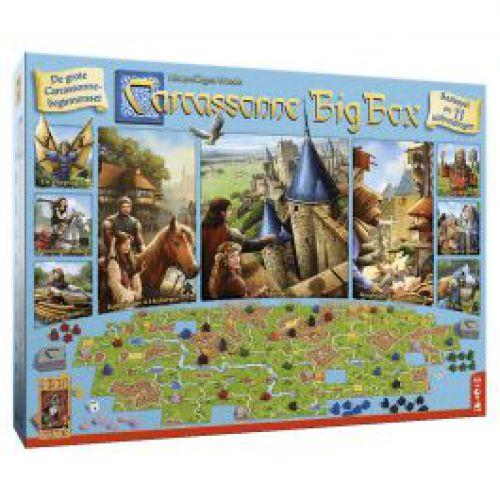 Carcassonne Big Box met 11 uitbreidingen