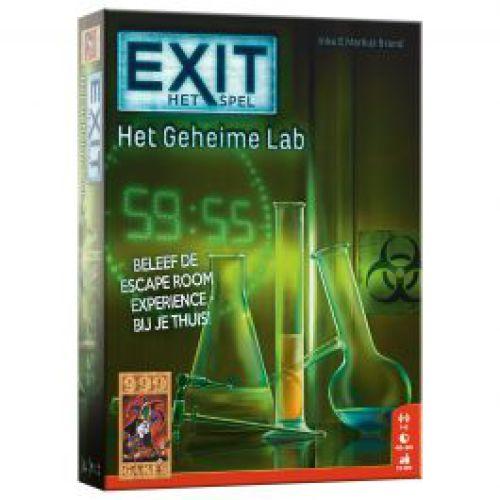 Exit 'Het geheime lab'