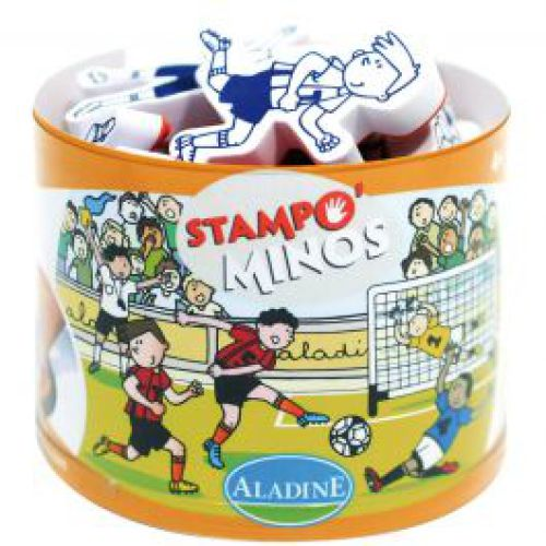Stempels 'Voetbal' Stampo Minos