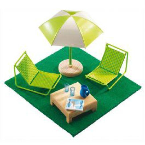 Terrasmeubeltjes voor poppenhuis