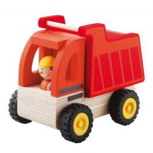 Vrachtwagen met kipbak