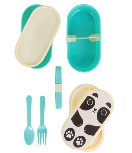 bento box 'Aiko Kawai Panda' - Sass & Belle