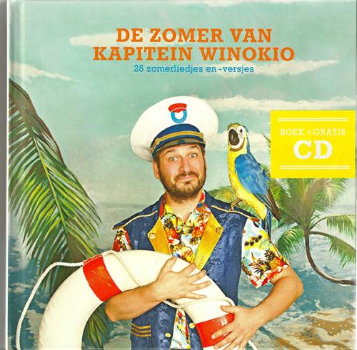 'De Zomer van Kapitein Winokio' boek + cd