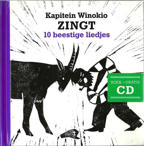 'Kapitein Winokio zingt 10 beestige liedjes' boek + cd