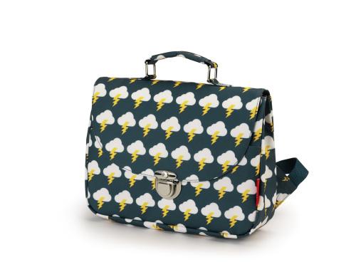 kleine boekentas met ruglinten, Bliksem Small - Engel.