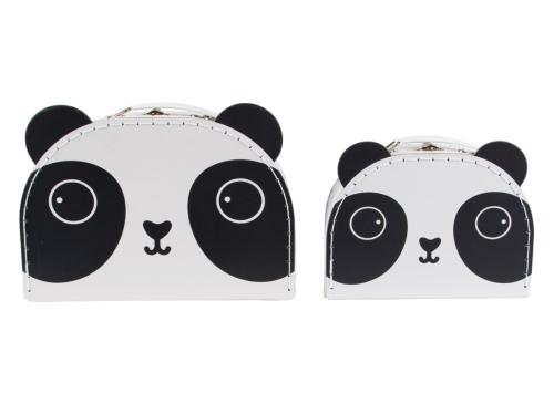 koffertjesset Kawaii panda - Sass & Belle