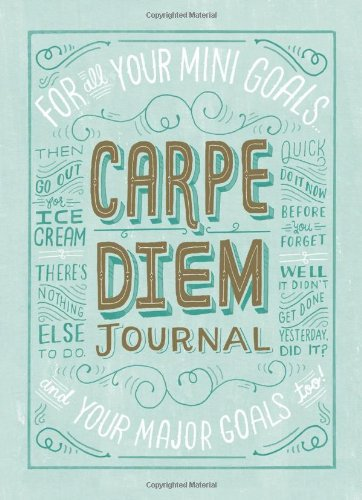 Carpe Diem Journal - Chronicle Books