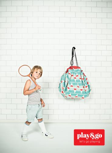 speelgoedzak Badminton - Play & Go
