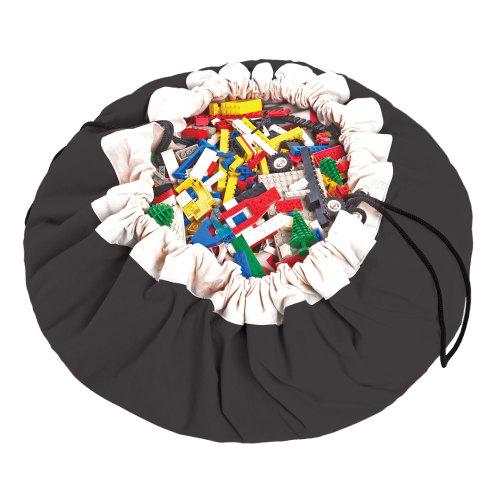 speelgoedzak Zwart - Play & Go