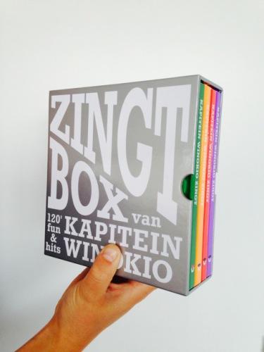 De 'Zingt-box' van 'Kapitein Winokio