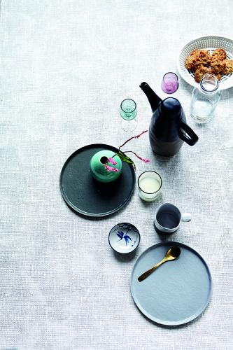 ontbijt- of dessertbord Solid, grijs - House Doctor
