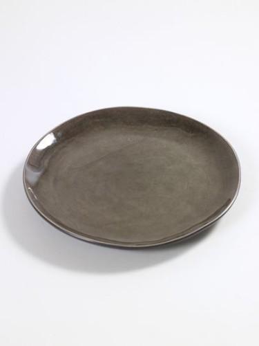 ontbijt- of dessertbord rond grijs - Pure Pascale Naessens