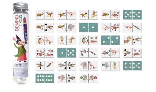 Domino (reisversie) Microgame 'Circus' - Londji