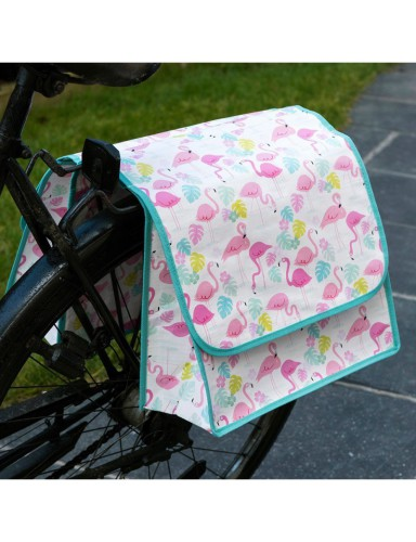 Flamingo fietszakken