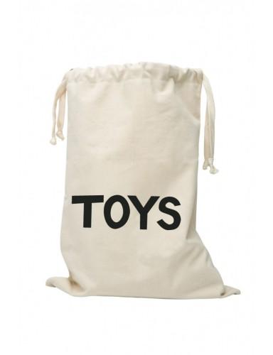 katoen opbergzak 'Toys' - Tellkiddo