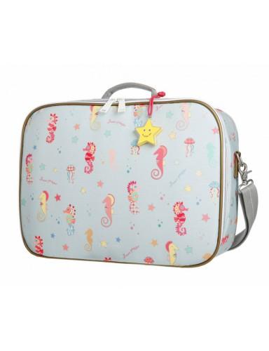 Koffer voor kinderen seahorse - Jeune Premier