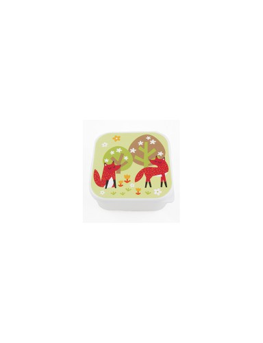 lunchbox vierkant 'Forest Vos'