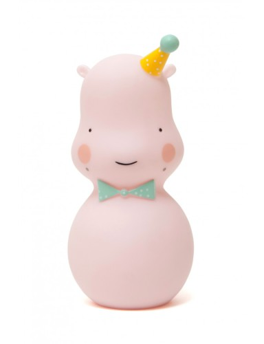 nachtlampje Hippo Pink - Eef Lillemor