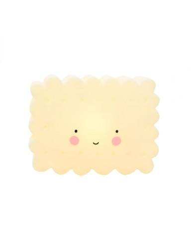 nachtlampje mini cookie yellow - A Little Lovely Company