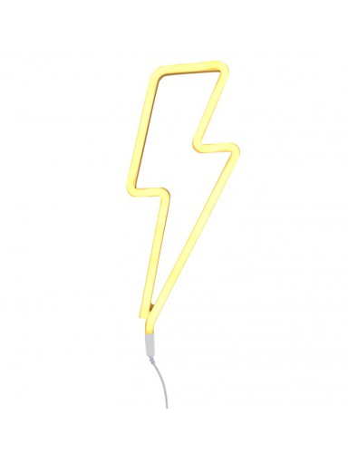 neon licht Lightning Yellow - A Little Lovely Company