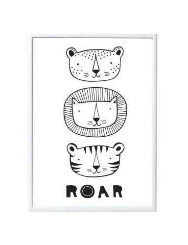 poster 'Roar' - A Little Lovely Company