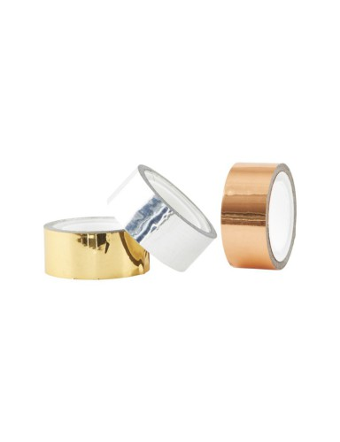 tape metallic gold/silver/copper - House Doctor