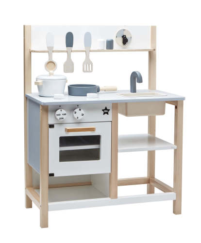 Keukentje natural/wit