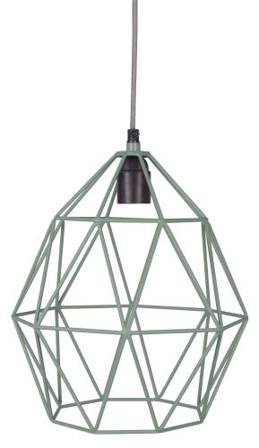Wire Hanglamp seagreen