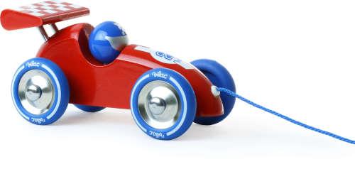 Race Trekauto rood/blauw