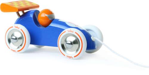 Race Trekauto blauw/oranje