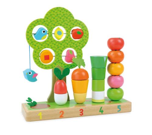 Ik leer tellen met groenten