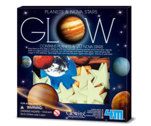 4M 4M - GLOW IN THE DARK - PLANETEN & STERREN