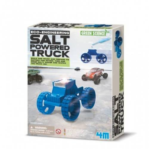 Kidzlabs GREEN SCIENCE: Salt Powered Truck