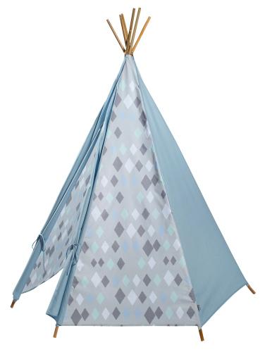 Wieber tipi tent blue