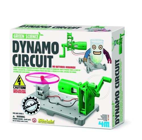 KidzlabsGREENSCIENCE: Dynamo Circuitboard