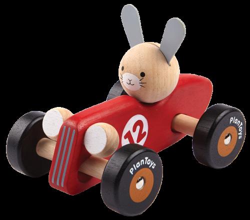 Konijn Racewagen