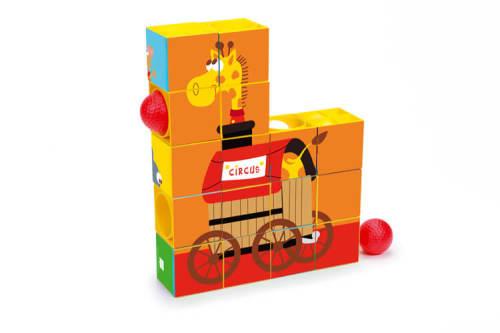 Puzzel & Roller Coaster Circus