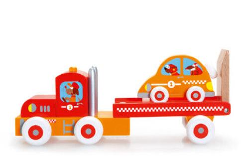 Vrachtwagen & Raceauto