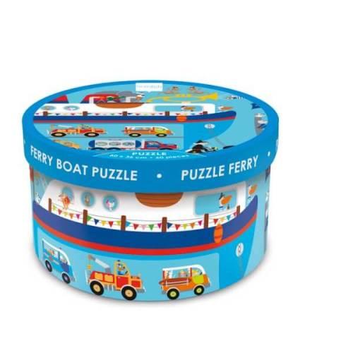 Puzzel – Veerboot - 60st