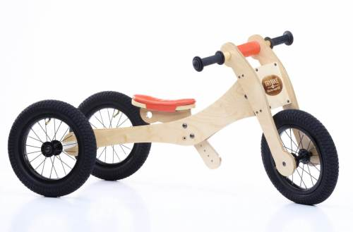 Loopfiets 4-in-1 Trybike Wood Oranje