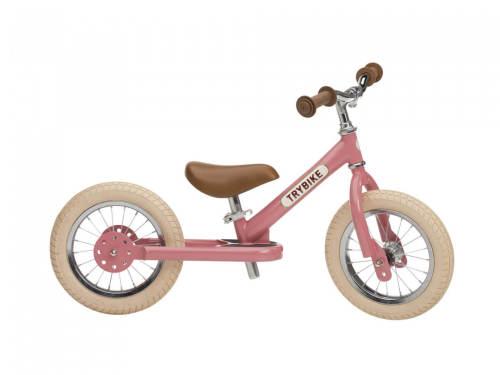 Loopfiets Trybike Steel Vintage pink