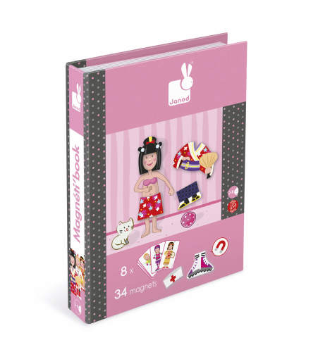 Magnetisch Boek Meisje