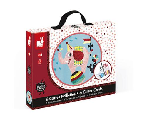 Koffer Glitterkaarten Circus