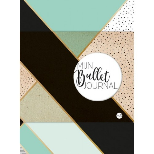 Bullet Journal mint goud