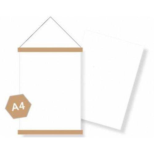 DIY blanco A4 posterpakket